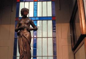 statue at the Sir John Soane Museum